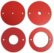 Rt-pir Insert Phenolic Ring Set For Sawstop Rt-lft Precision Router Table Lift