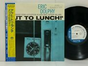 Eric Dolphy – Out To Lunch Lp 1984 Japan Blue Note Hard Bop Free Jazz W/ Obi