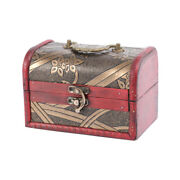 1pc Wooden Box Vintage Small Wooden Box For Store Party Home Dorm
