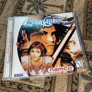 Soul Calibur Dreamcast Tested And Working Complete Disc Case And Manual Wow