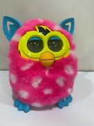 Hasbro Furby Boom Polka Dot Pink And White 2012 Interactive Toy Un-tested