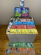 1977 Star Wars Topps Master Set 330 And 55 Stickers Graded Luke W/ Boxes Wow