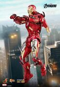 Hot Toys 1/6 The Avengers Mms500d27 Iron Man Vii Mk7 Die-cast Action Figure