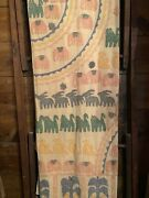 Antique/victorian Hand Made Extra Large Baby/child Blanket Quilt Bedspread