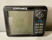 Lowrance X-75 Fish Finder Head Unit Only
