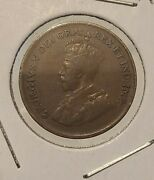 1930 Canadian Penny Key Date Great Condition