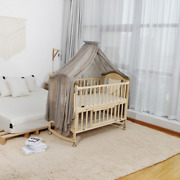 Baby Bed Mosquito Net 100 Silver Fabric Bed Canopy Blocking Radiation Signal
