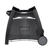 Weber Gas Grill Rolling Cart Q 2000 Grilling Outdoor Cooking Bbq Accessory Black