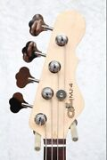 Mj-4 Rosewood Fingerboard Used Clear Red _51945