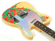 Fender Jimmy Page Telecaster Dragon Paint Tele Used _52932