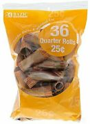 Bazic Quarter Coin Wrappers 36 Per Pack - 45 Packs