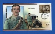 Scott 3393 33c John L. Hines Distinguished Soldiers Hand Painted Fdc By Bevil