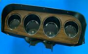 1969 Ford Mustang Gauge Cluster Deluxe Tachometer Conversion Refurbished 2029