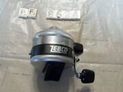 T8624 Pf Zebco Spinner 33 Fishing Reel Made In Usa Metal Foot Works Good