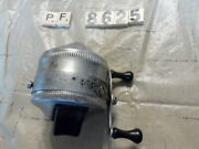 T8625 Pf Zebco Spinner 33 Fishing Reel Made In Usa 1 Rivet Metal Foot Works Good
