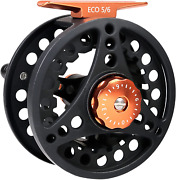 Maxcatch Eco Large Arbor Fly Fishing Reel 3/4wt 5/6wt 7/8wt And Pre-loaded Fly
