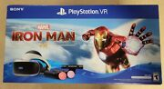 Sony Playstation Vr Marvel Iron Man Virtual Reality Headset Bundle Ps4/ps5 New