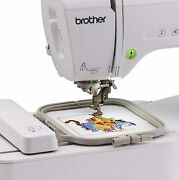 Brother Pe550d Pe 550 D Embroidery Machine W/ Built-in Disney Designs Open Box
