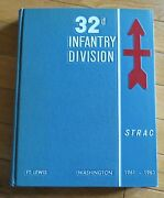 32d Infantry Division Strac Ft. Lewis Washington 1961-1962 Yearbook Photo Wis