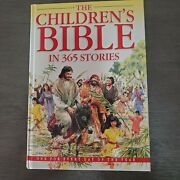 Childrens Bible 365 Stories By Mary Batchelor Hardcover 1995 Illustrated Clean