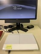 Sony Playstation 3 Super Slim 500 Gb Gaming Console White Limited Edition 4001c