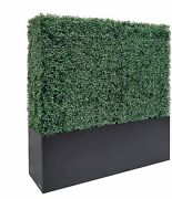 Self Standing Artificial Hedge Wall Patio Divider Fence Privacy Screen Cover Big