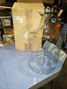 New Pyrex 1595-5 19l Solution Bottle With Tooled Neck 5 Gallon 7740 Glass J/b