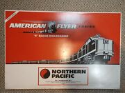 American Flyer Lionel Northern Pacific Pass Train Set 6-49602 New In Orig Box