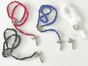 Catholic Rosary Crystal Rosaries 4 Color Holy Spirit