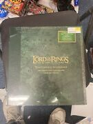 Lord Of The Rings Return Of The King Soundtrack 6lp Vinyl Record Box Green Lotr