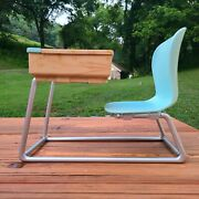 Our Generation Blue School Chair And Desk For 18 Doll