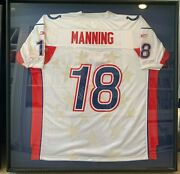 Signed Peyton Manning Pro Bowl 2004 Reebok Nfl All-star Jersey 18 Authentic.