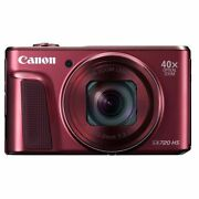 Secondhand 1-year Warranty Canon Powershot Sx720 Hs Red _53300