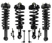 Air Spring Bag Strut To Coil Over Strut Conversion Fits 07-13 Expedition 8pc