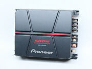 Pioneer 500w 2ch Power Amplifier High-powered Car Audio Subwoofer Gm-a370 7-423