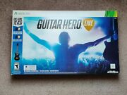 Xbox Guitar Hero Live Xbox 360 Guitar Controller Strap Dongle And Game Bundle