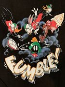 Vintage Marvin The Martian Loony Tunes Tv Shirt Size Xl