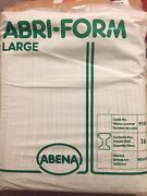 1 Pack Of 16 Large Abena Abri-form Vintage Adult Diapers
