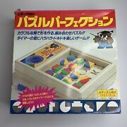 Puzzle Pop Goes Perfection 1984 Epoch Japan Vintage Game Deadstock Japanese