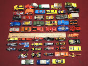 Large Lot Of Mostly Hot Wheels Toy Cars Motorcycles Etc. Some Old Some Desirable