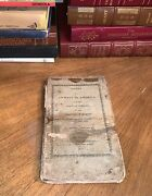 1817 Notes On A Journey In America From Virginia To Illinois Hb Book Rare Scarce