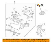 Hummer Gm Oem 03-07 H2 Center Console-handle 15808173
