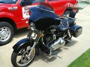 Tsukayu Batwing Gps Fairing For Harley H-d Fld Dyna Switchback Gelcoat
