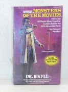 1975 Aurora 654 Dr. Jekyll Monsters Of The Movies 1/12 Scale Model Kit T706