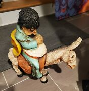 Vintage 1960 Universal Statuary Corp Pancho Mexican Donkey