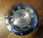 Vintage Sear Roebuck And Company Boat Speedometer Gauge 45mph