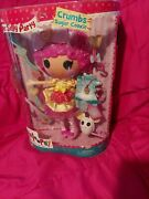Lalaloopsy Doll Crumbs Sugar Cookie Limited Edition Full Size 2015 Htf