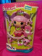 Lalaloopsy Limited Edition Jewel Sparkles Super Silly Party Full Size New 2015