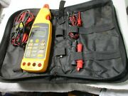 Fluke 773 Milliamp Process Clamp Meter Complete With Accessories Case