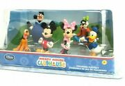 Disney Store Mickey Mouse Clubhouse Figurine Playset 6 Characters Nib Rare